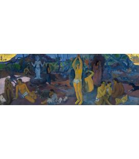 Paul Gauguin - Da dove veniamo, Chi siamo, Dove andiamo. Stampa su tela