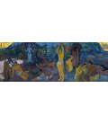 Printing on canvas: Paul Gauguin - Where Do We Come From? What Are We? Where Are We Going?