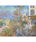 Claude Monet - Villas in Bordighera. Printing on canvas