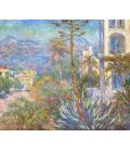 Stampa su tela: Claude Monet - Ville a Bordighera