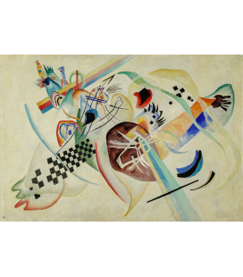 Vassily Kandinsky - On White. Printing on canvas