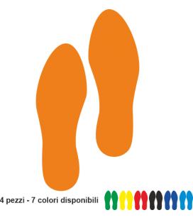 Segnaletica Orizzontale - PASSI - 10pz