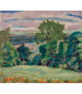 Pierre Bonnard - Landscape. Printing on canvas