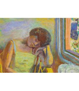 Pierre Bonnard - Donna che dorme. Stampa su tela
