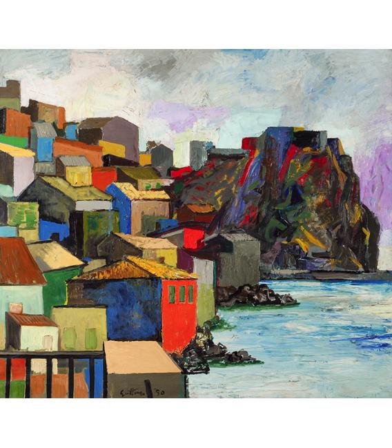 Renato Guttuso - Scilla. Printing on canvas
