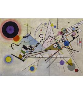 Vassily Kandinsky - Composizione 8. Stampa su tela