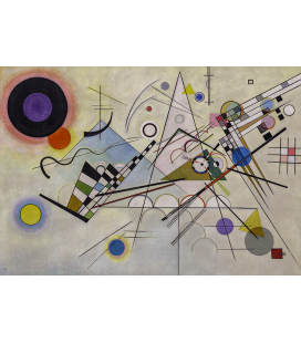 Vassily Kandinsky - Komposition 8. Printing on canvas