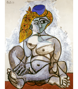 Pablo Picasso - Nude with Turkish cap
