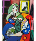 Pablo Picasso - Woman with a book