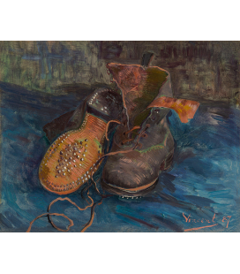 Vincent Van Gogh - A Pair of Boots. Printing on canvas
