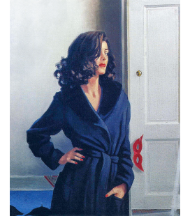 Jack Vettriano - Dressed to Kill. Printing on canvas