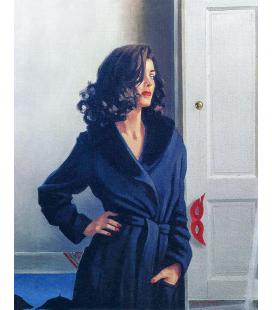 Jack Vettriano - Vestito per uccidere. Stampa su tela