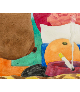 Tom Wesselmann - Helen. Printing on canvas