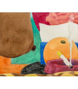 Tom Wesselmann - Drawing for Bedroom Painting 13. Stampa su tela