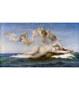Alexandre Cabanel - La Nascita di Venere. Stampa su tela