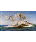 Alexandre Cabanel - The Birth of Venus. Printing on canvas