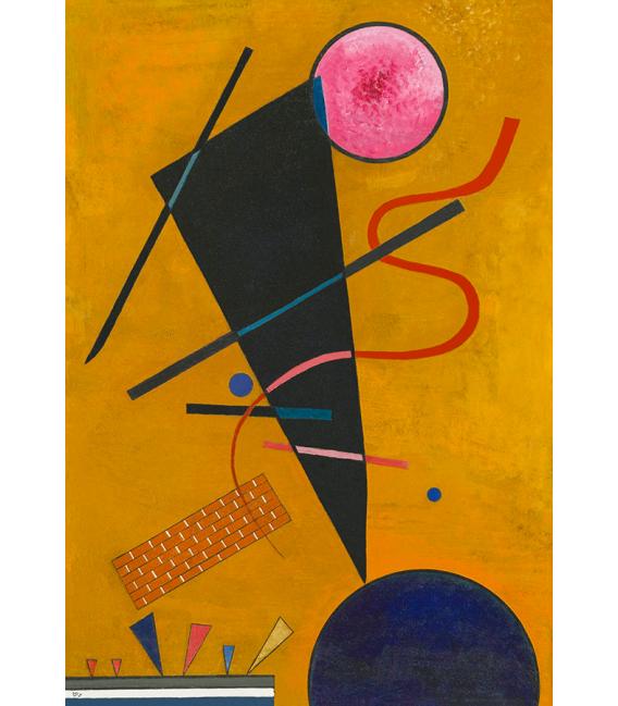 Printing on canvas: Kandinsky Vassily - Contact