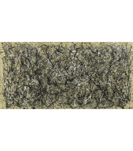 Printing on canvas: Jackson Pollock - One: Number 31 1950