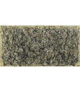 Stampa su tela: Jackson Pollock - Uno: Numero 31 1950